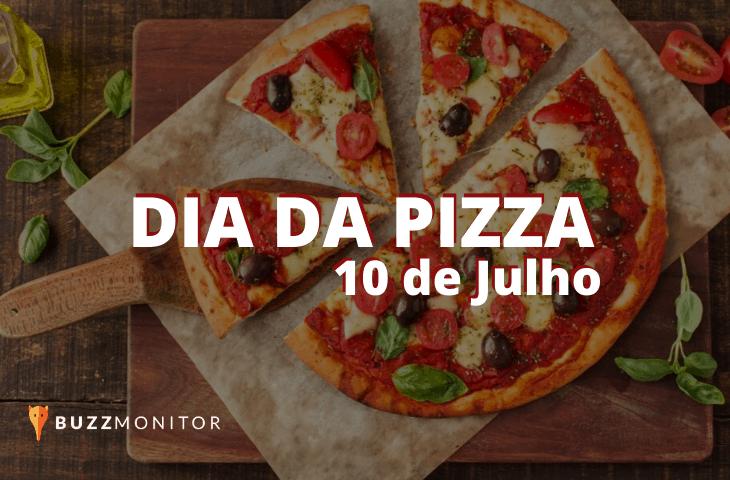 Dia da pizza: os sabores mais citados em redes sociais