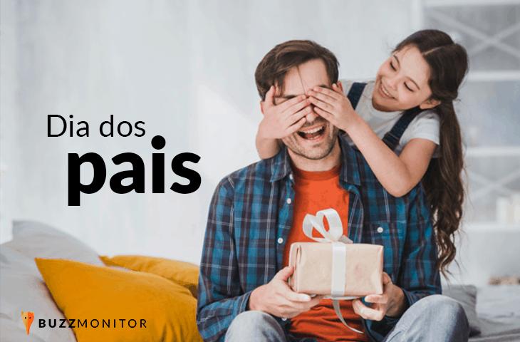 Dia dos pais: Volume de buzz cai mais de 40% em relação ao ano de 2019 e roupa é o presente mais sugerido nas redes sociais.