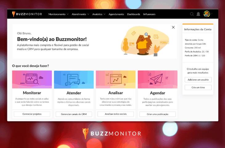 Atualizações de Natal: Nova interface e novas funcionalidades para o Buzzmonitor