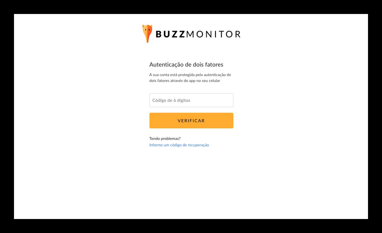 Buzzzmonitor_autenticaãosegurança