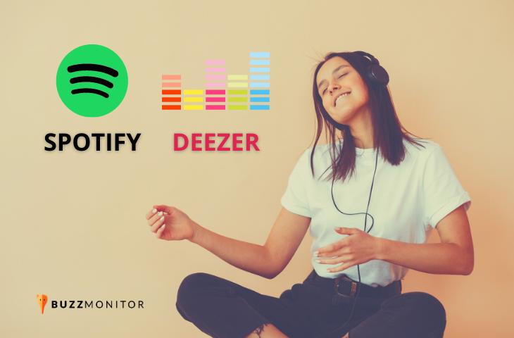 Batalha de streaming de música: Spotify vs Deezer