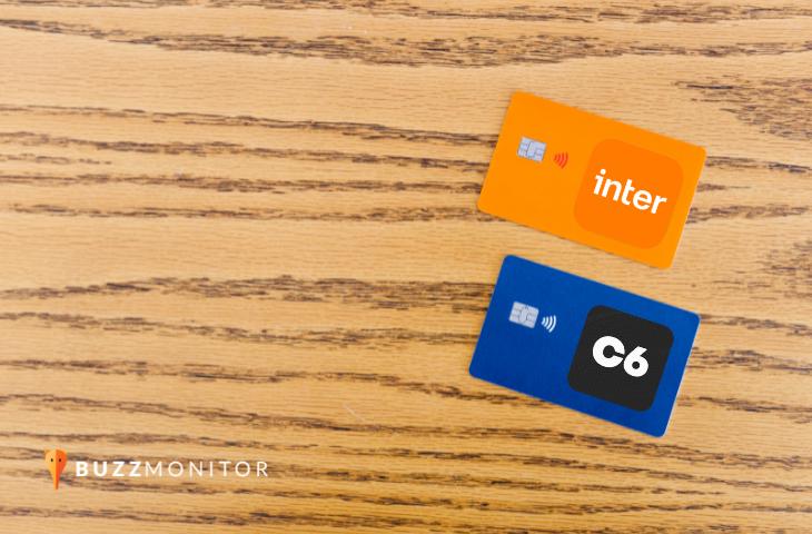 Batalha de bancos digitais: como os bancos C6 e Inter performam no Facebook e Instagram?