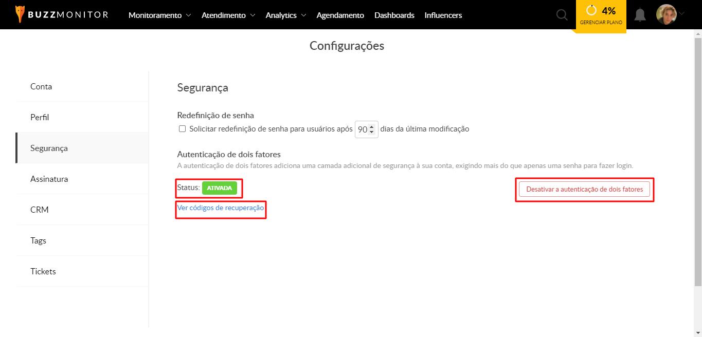 Buzzmonitor_AutenticaçãoDesativar