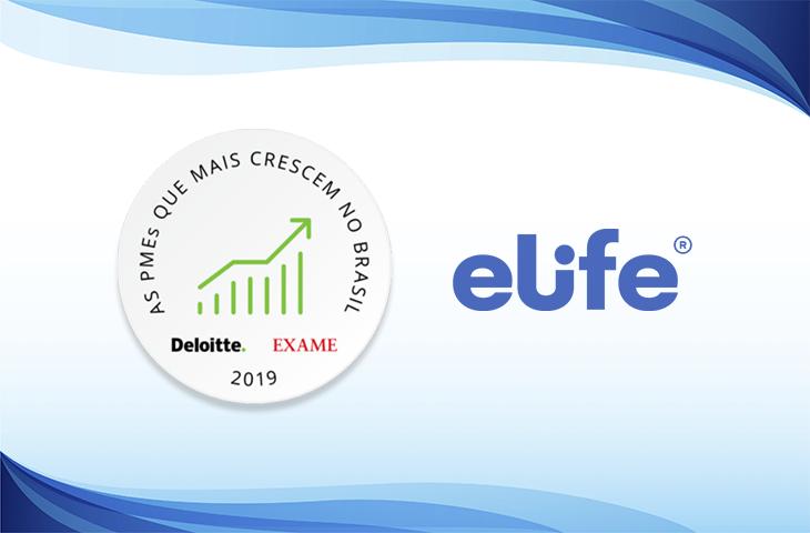 Elife está entre as pequenas e médias empresas que mais crescem no Brasil