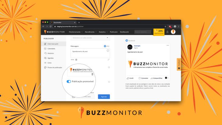 9 Novidades Buzzmonitor para o mês de Abril!