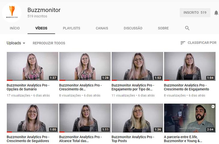 Já conferiu os novos vídeos no nosso canal do YouTube?