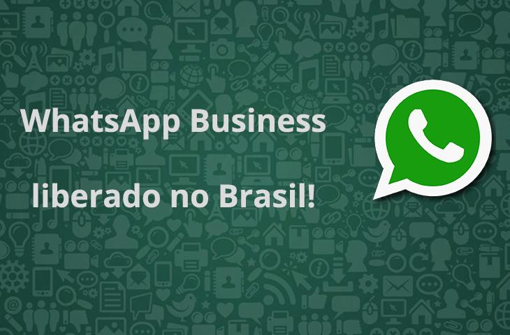 WhatsApp Business disponível no Brasil!