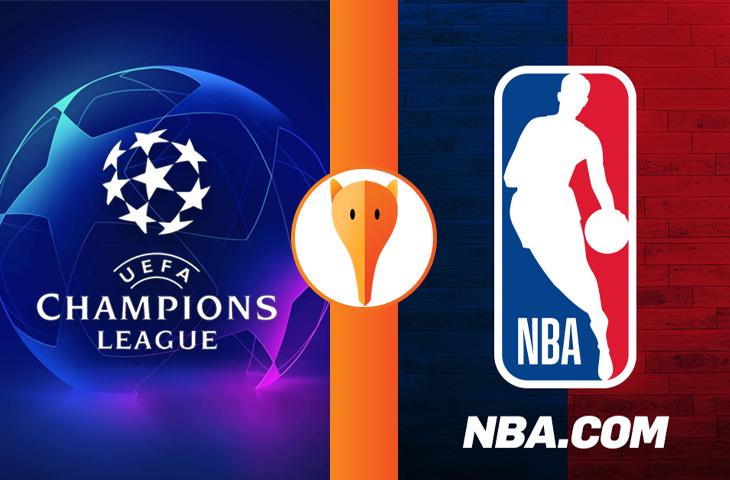 Qual final causou mais buzz nas redes: Champions League ou NBA?