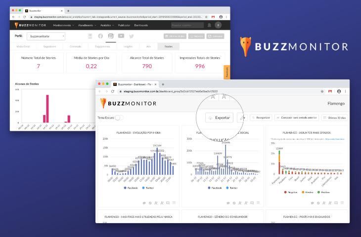 Novas métricas do Instagram Stories, identificação do mesmo consumidor em diferentes redes sociais e mais novidades do Buzzmonitor para janeiro de 2020