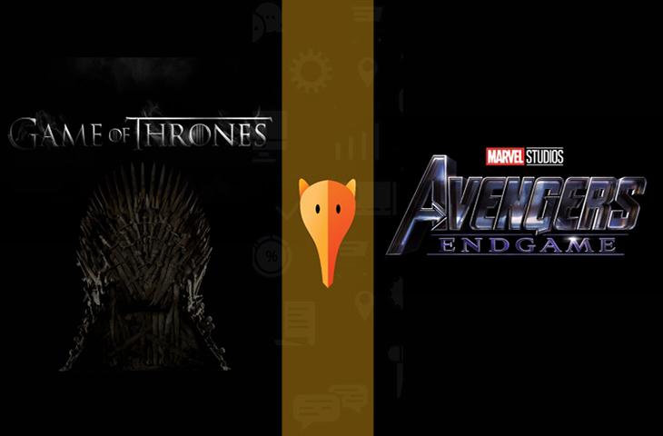 A batalha do buzz: Vingadores vs. Game of Thrones
